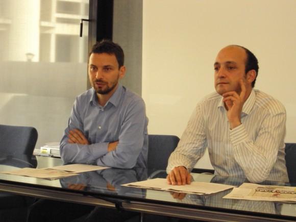 Giovanni Favia e Andrea De Franceschi, M5S Emilia-Romagna
