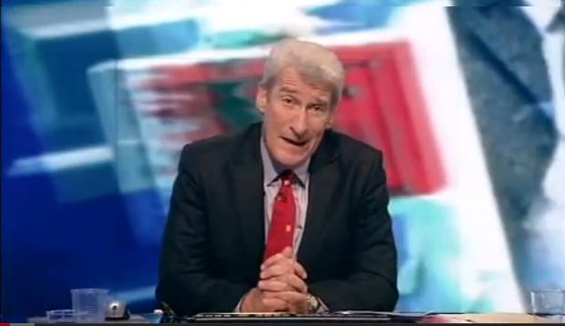 Jeremy Paxman, giornalista BBC
