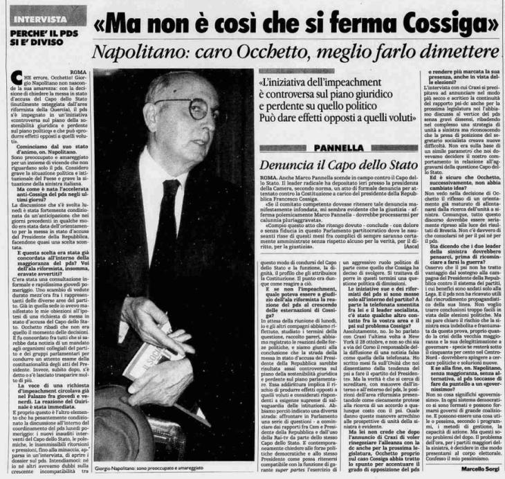 La Stampa, 27/11/1991